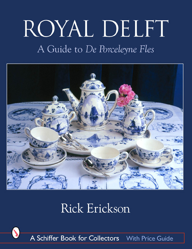 Cover of Royal Delft: A Guide to De Porceleyne Fles.